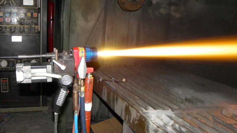 Pistol metalizare HVOF cu sarma