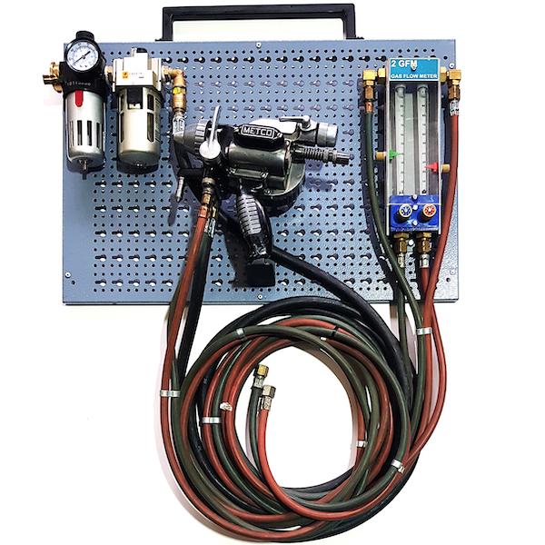 Metco 10E – Flame Spray Installation